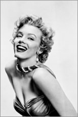 Acrylic print  Marilyn Monroe - Smiling - Celebrity Collection