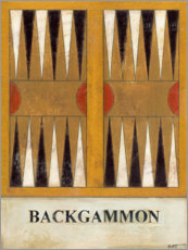 Premium poster Backgammon