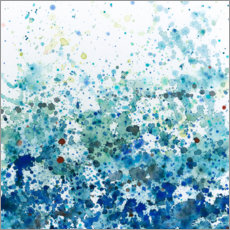Wall sticker Speckled Sea II