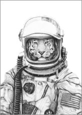 Aluminium print  Apollo 18 - Mike Koubou