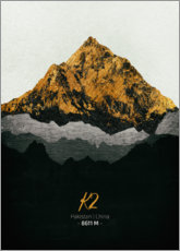 Canvas print  K2 - Tobias Roetsch