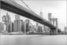 Acrylic print  Brooklyn Bridge - nitrogenic