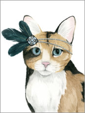Wall sticker  Cat of Downton I - Grace Popp