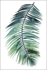 Canvas print  Palm leaf watercolor II - Grace Popp