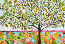 Canvas print  Happy tree of life - Karen Fields