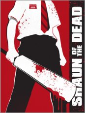 Premium poster  Shaun of the dead - Golden Planet Prints