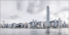 Wall sticker  Hong Kong Skyline - Ulrich Beinert