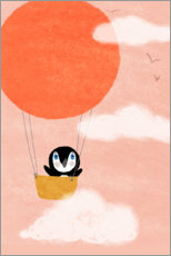 Gallery print  Penguin dream - Julia Reyelt