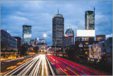 Premium poster Interstate Highway in Boston