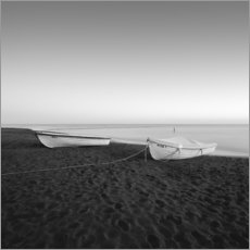 Aluminium print  Fishing boats on the Baltic Sea beach - Thomas Wegner