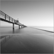 Wall sticker  Pier on the Baltic Sea - Thomas Wegner