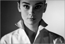 Gallery print  Audrey Hepburn - Celebrity Collection