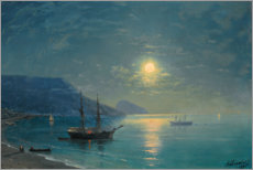 Acrylic print  Evening in the Crimea - Ivan Konstantinovich Aivazovsky