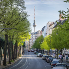 Canvas print  TV tower in Berlin Mitte - Jan Christopher Becke