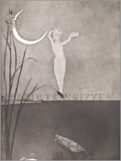 Canvas print  Title page from the series Etched sketches - Max Klinger