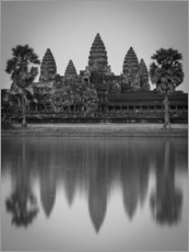 Canvas print  Temple of Angkor Wat in Cambodia - Markus Ulrich