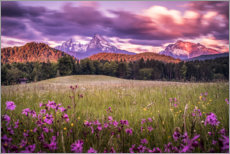 Gallery print  Sunrise at Watzmann - Fotomagie
