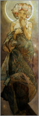 Premium poster  The moon - Alfons Mucha