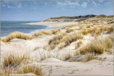 Canvas print  Wandering dunes on Sylt - Christian Müringer