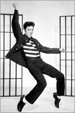 Aluminium print  Elvis Presley dancing II - Celebrity Collection