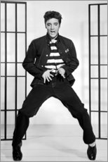Premium poster  Elvis Presley dancing I - Celebrity Collection
