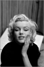 Acrylic print  Marilyn Monroe's dreamy look - Celebrity Collection