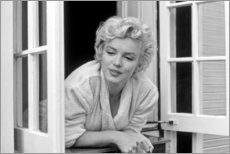 Acrylic print  Marilyn Monroe - Window Scene - Celebrity Collection