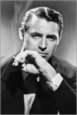 Canvas print  Cary Grant - Celebrity Collection