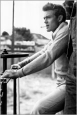 Gallery print  James Dean - Celebrity Collection