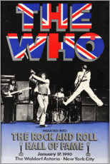 Premium poster  The Who - Hall of Fame - Entertainment Collection
