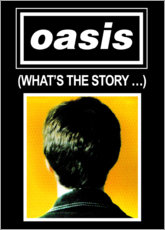 Wall sticker  Oasis - What's The Story... - Entertainment Collection