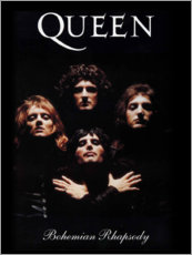 Canvas print  Queen - Bohemian Rhapsody - Entertainment Collection