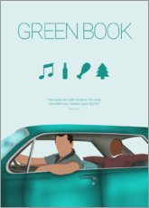 Wall sticker  Green Book - HDMI2K
