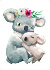 Premium poster  Koala mama - Kidz Collection