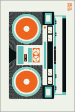Canvas print  Ghetto Blaster - Bo Lundberg