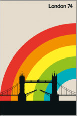 Canvas print  London 74 - Bo Lundberg