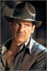 Premium poster Indiana Jones and the Last Crusade, Harrison Ford