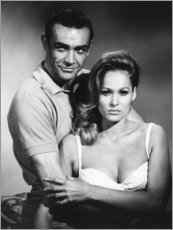 Premium poster Sean Connery and Luciana Paluzzi