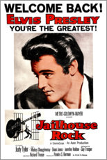 Canvas print  Jailhouse Rock, Elvis Presley
