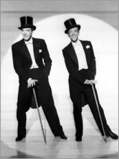Premium poster Jack Buchanan and Fred Astaire