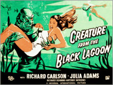 Premium poster Creature from the Black Lagoon