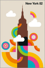 Wall sticker  New York 82 - Bo Lundberg
