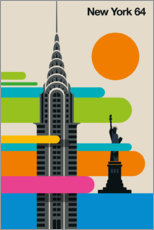 Wall sticker  New York 64 - Bo Lundberg