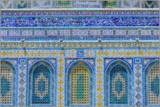 Premium poster  Pattern of the Dome of the Rock I - HADYPHOTO