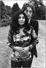 Gallery print  John Lennon and Yoko On