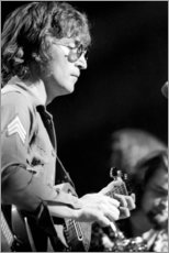 Canvas print  John Lennon, charity concert in New York