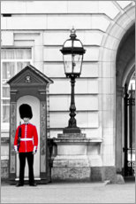 Premium poster Buckingham Guard - London