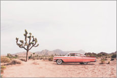 Premium poster  Vintage car in the desert - Sisi And Seb