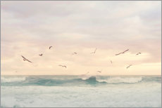 Canvas print  Seagulls in the surf - Sisi And Seb