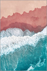 Canvas print  Colors of the sea - Art Couture